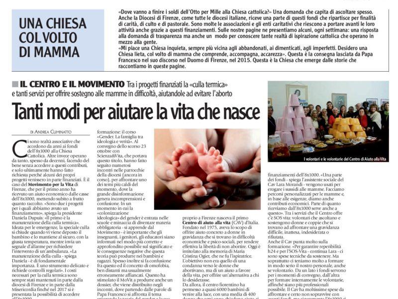 Articolo Toscana oggi